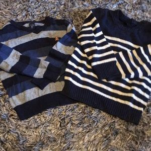 Two baby GAP sweaters gently used 3T.